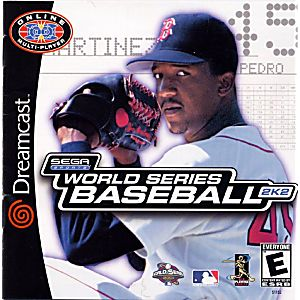 World Series Baseball 2K2 Dreamcast cover art