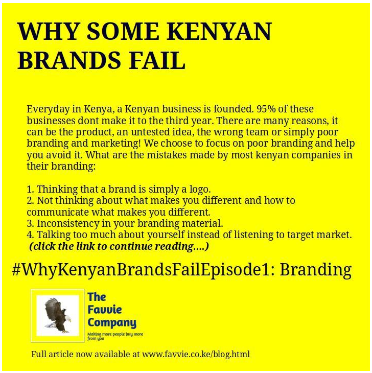 Why 46% of Kenyan brands fail within the first year of founding.