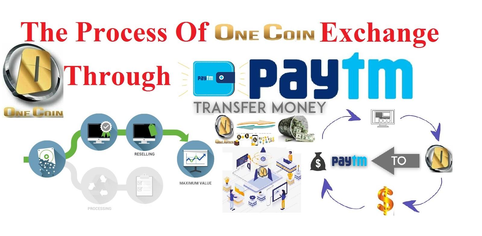 Onecoin Exchange Through Paytm