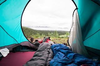 camping di gunung