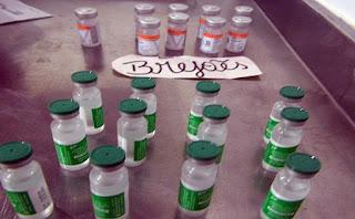 Brejões: Frascos de Vacina contra Covid-19 têm menos de doses