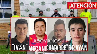 Cayó banda dedicada al robo de motocicletas y vehículos en Isnos y San Agustín