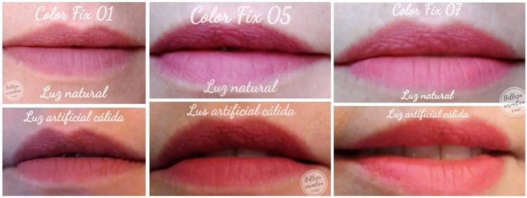 Color fix Swatches labios
