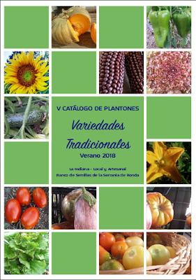 V Catálogo de Plantones
