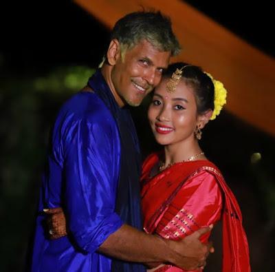 Milind-soman-wedding