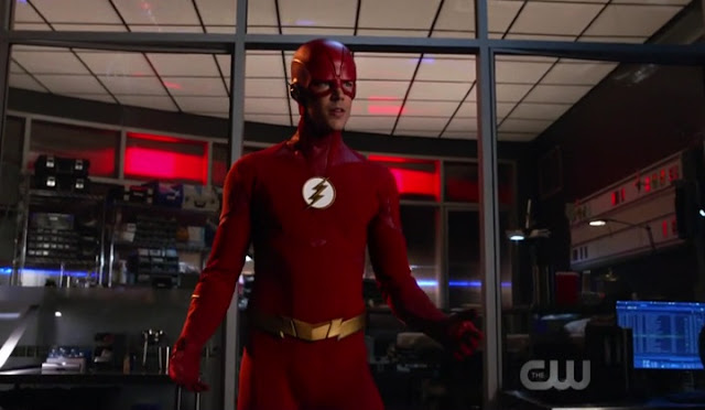 Flash New Suit - The Flash Season 5 Episode 1 Breakdown