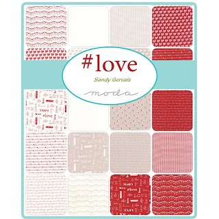 Moda #Love Fabric by Sandy Gervais for Moda Fabrics