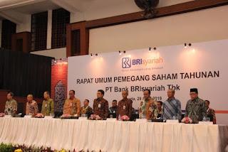 RUPS Pembagian Deviden PT Bank BRI Syariah Tbk