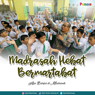 Madrasah Punya Slogan Baru, Inilah Slogannya