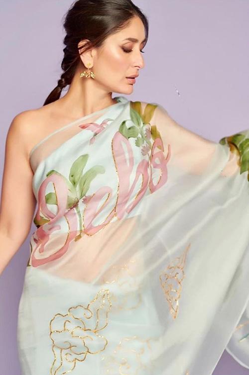 Kareena Kapoor's sensuous avatar in saree for The Kapil ...