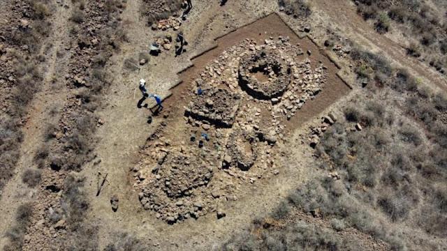 Descubren en Gran Canaria estructuras prehispánicas inéditas