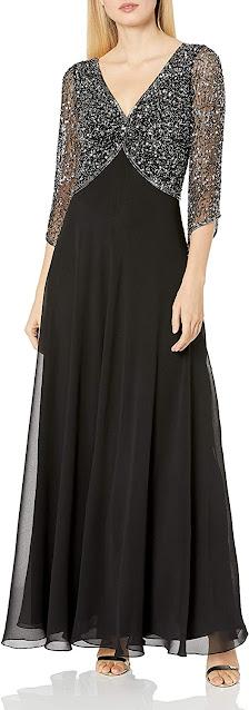 Unique Black Mother of The Bride Dresses