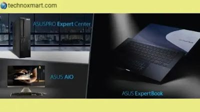 Asus ExpertBook Models Of Laptops, AsusPro ExpertCenter Varieties of Desktop PCs, All In One PCs Launched In India