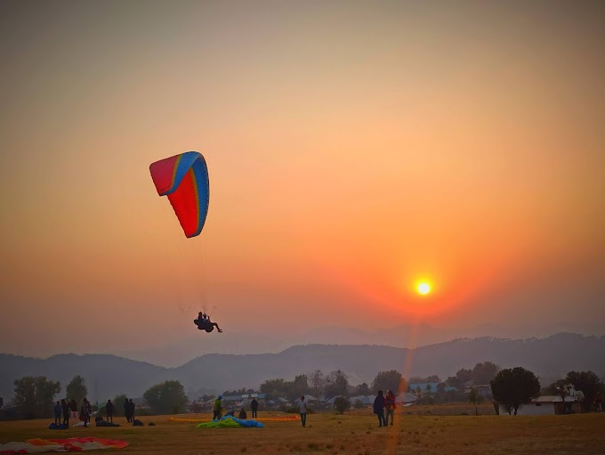Camping and Paragliding Package - himalayanfever