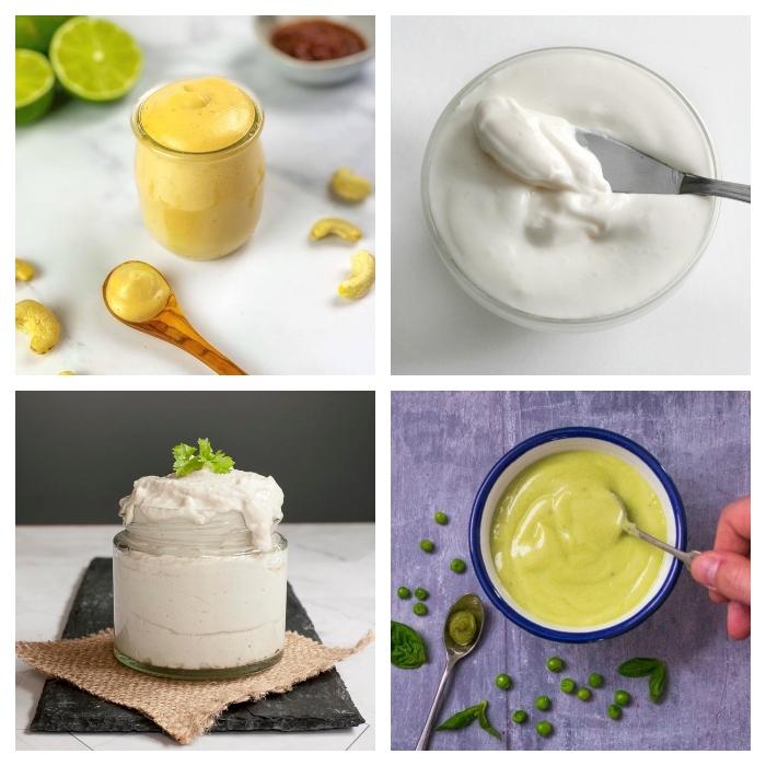 Vegan Mayo & Sour Cream