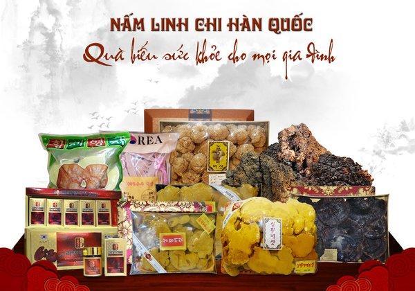 Có mấy loại nấm linh chi Hàn Quốc trên thị trường hiện nay.