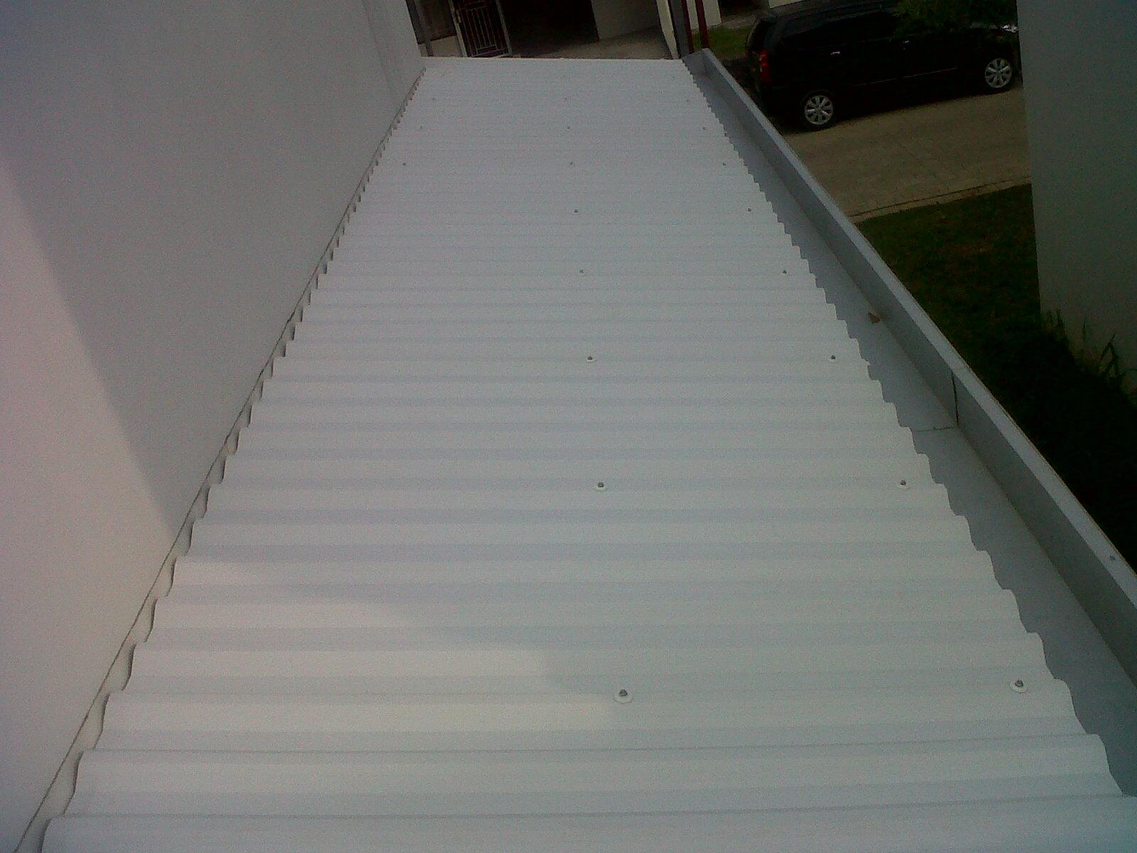 kanopi  atap alderon  Bengkel las dan Canopy minimalis