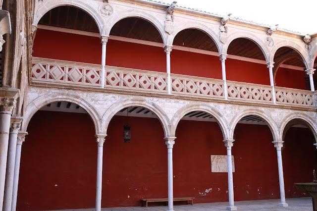 Interior de La Casa de las Torres o Palacio de Dávalos