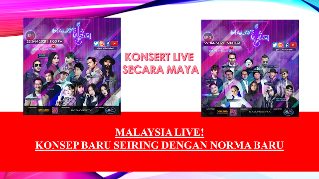 MALAYSIA LIVE! : KONSEP BARU SEIRING DENGAN NORMA BARU