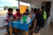 Babinsa Koramil 416-05 Gencar Sosialisasi Pendisiplinan Protokol Kesehatan