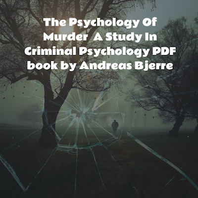 Criminal Psychology PDF book