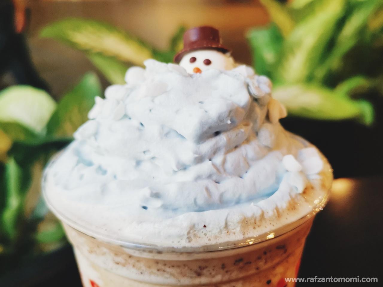 Holiday French Vanilla Latte Dari Starbucks Malaysia - Cuba Try Test Tengok