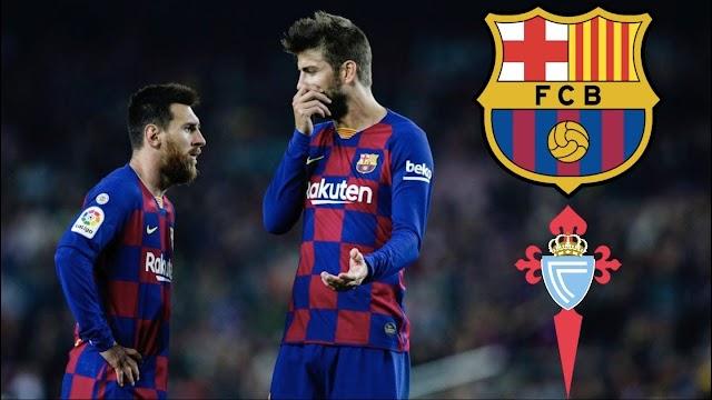 Surprises in the Barcelona team to face Celta Vigo