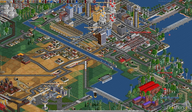 Indie Retro News: OpenTTD 1.7.2-RC1 - Open Source Transport Tycoon Deluxe gets a new build!