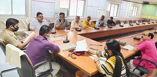 जिला स्तरीय स्थायी समिति की बैठक सम्पन्न  | #NayaSaberaNetwork