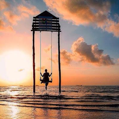 Pantai Viovio di Kota Batam, Pantai Bernama Unik dan Punya Sunset yang Epik