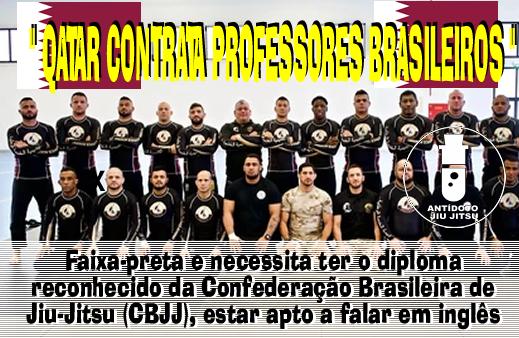 Exército Do Qatar Abre Vagas Para Novos Professores De Jiu Jitsu