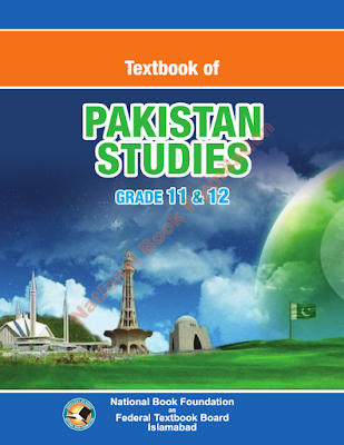 Class 12 Pakistan Studies  English Text Book for FBISE Federal Board  PDF Download