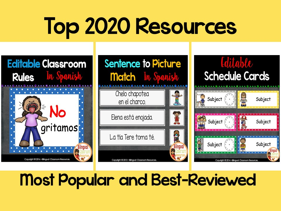 Most Popular and Best-Reviewed Resources of 2020 in Your Classroom
