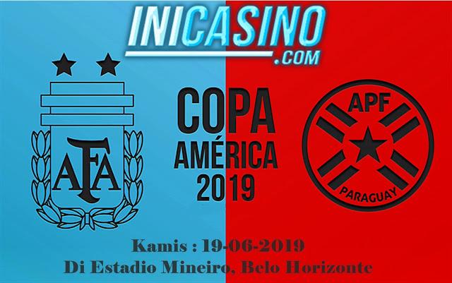 Prediksi Bola Antara Argentina Vs Paraguay 20 Juni 2019