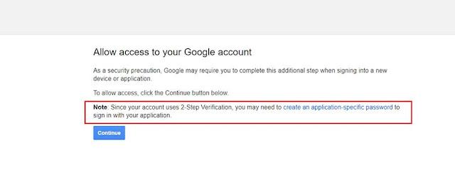 Hình 4 - Tài khoản Gmail đã cấu hình bảo mật 2 bước (Vui lòng thực hiện B4 và B5)