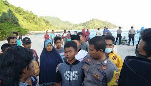 BreakingNews|Pelajar SMA Asal Desa Kedaro Sekotong Hilang Terseret Ombak Pantai Mekaki.