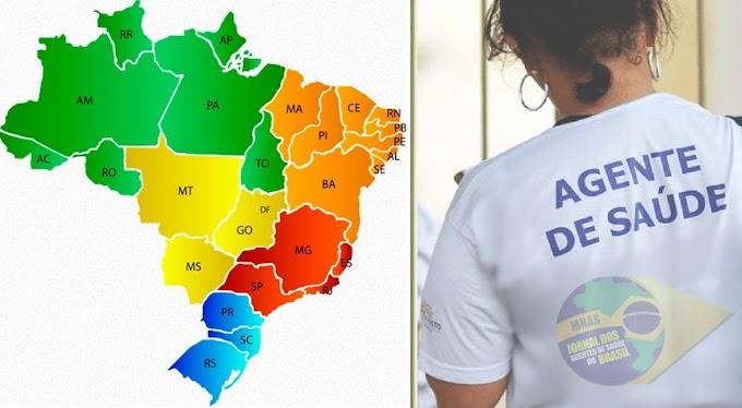 Incentivo Adicional: Confira quais são as 168 cidades do Nordeste que pagam o recurso aos Agentes de Saúde (ACS/ACE).