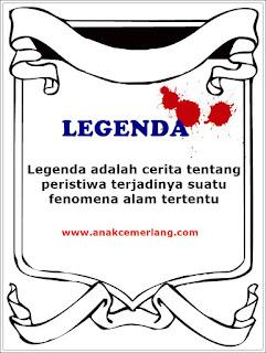 Definisi Dan Pengertian Legenda