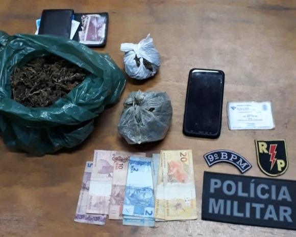 Em Delmiro Gouveia, homem é preso por tráfico de drogas