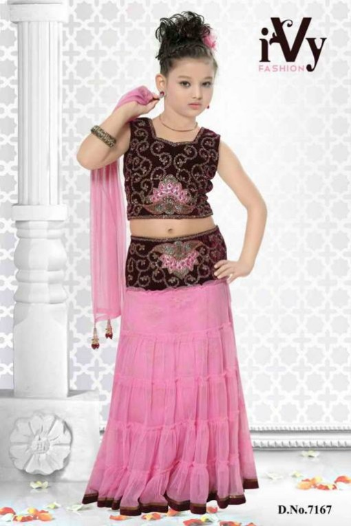 fashion  fok trade india beautiful anarkali kids wear