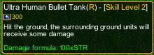 naruto castle defense 6.3 Choji Big Human Bullet Tank R02 detail