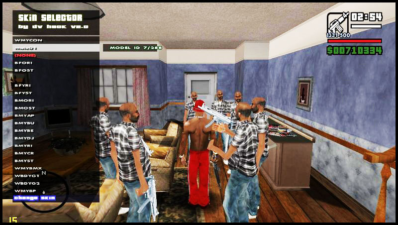 Download GTA San Andreas Skin Selector V2.0 Mod For PC