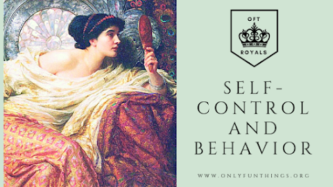 Self-Control and Behavior – Royals Lesson!
