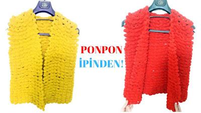 ponpon-ipinden-yelek-nasil-orulur