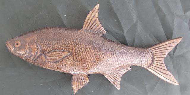 деревянные рыбы России -жерех