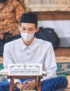 Hadizh Indonesia Imam masjid uea