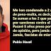 """Pablo Hasel, tras su condena por injurias a la Corona: """"Jamás claudicaré, fascistas de mierda"""""""