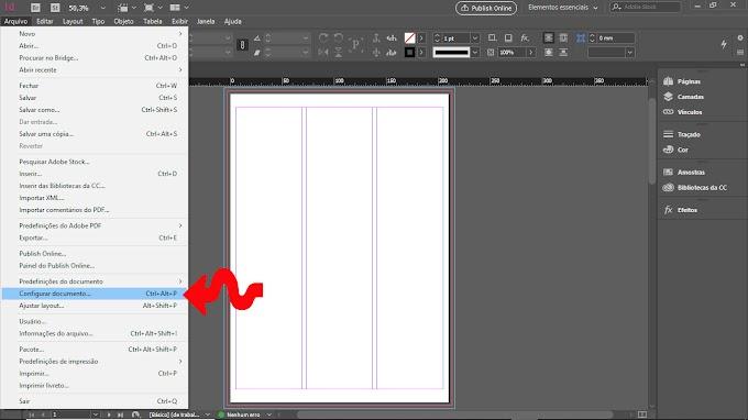 Tutorial Adobe Indesign CC 2019. Reeditando um projeto depois de aberto