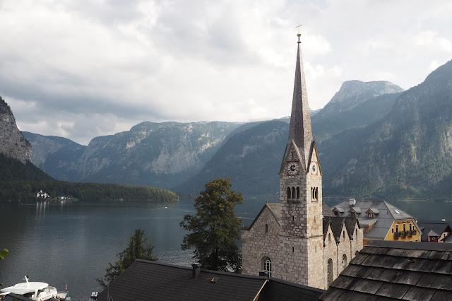 Church viewpoint in Hallstatt