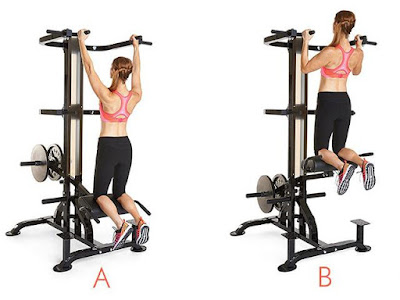 Best Back Workout For Women's- Pull up